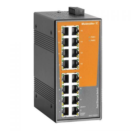 2682150000 Unmanaged Fast Ethernet 16 Port