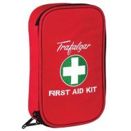 Vehicle & Low Risk First Aid Kit With Soft Case - Red 848794
