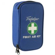 Vehicle & Low Risk First Aid Kit With Soft Case - Blue 848890