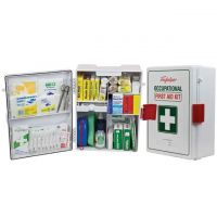 Wallmount ABS Plastic National Workplace First Aid Kit 873849