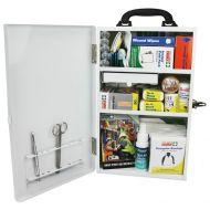 WM1 Wall Mount First Aid Kit (Metal Case) 876478