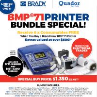 BMP71 Printer Bundle Special QUABMP71