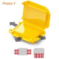 Happy Line 2 - Yellow - 53 x 39 x 24 - Qty 1