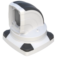 IP-045-600 Support Arm Rotating Top Mount 90° Elbow LD