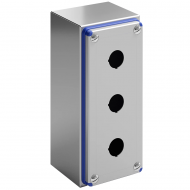 IP-HPB3 IP69K Pushbutton Enclosure Stainless Steel