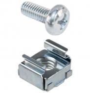 IP-M6SCREW-CAGENUT M6 Cage Nut & Screw (50 Pack)