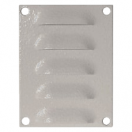 IP-PSLV10075 Louvre Vent 100 x 75 mm Powder Coated