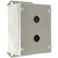 IP-SSPB2 Pushbutton Enclosure Stainless Steel