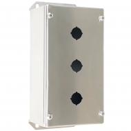 IP-SSPB3 Pushbutton Enclosure Stainless Steel