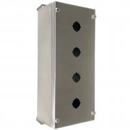 IP-SSPB4 Pushbutton Enclosure Stainless Steel