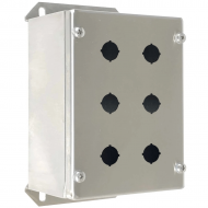 IP-SSPB6 Pushbutton Enclosure Stainless Steel