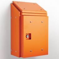 IP-SSR302015-HD-SUN-OR Sloping Roof Single Door IP66 Electrical Enclosure