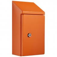 IP-SSR302015-OR Sloping Roof Single Door IP66 Electrical Enclosure
