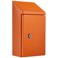 IP-SSR504025-OR Sloping Roof Single Door IP66 Electrical Enclosure