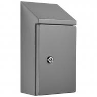 IP-SSR302015 Sloping Roof Single Door IP66 Electrical Enclosure