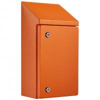 IP-SSR604025-HD-OR Sloping Roof Single Door IP66 Electrical Enclosure