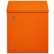 IP-SSR1008030-OR Sloping Roof Single Door IP66 Electrical Enclosure