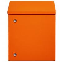IP-SSR1008030-HD-OR Sloping Roof Single Door IP66 Electrical Enclosure