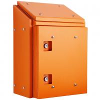 IP-SSR806030SUN-OR Sloping Roof Single Door IP66 Electrical Enclosure