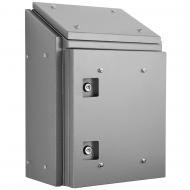 IP-SSR808030SUN Sloping Roof Single Door IP66 Electrical Enclosure