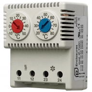 IP-THD1 Thermostat Double NC|NO -10/+50|+20/+80 °C