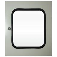 IP-5030WINDOOR Transparent Door Steel Powder Coated
