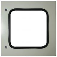 IP-6060WINDOOR Transparent Door Steel Powder Coated