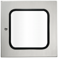 IP-SS4040WINDOOR Transparent Door Stainless Steel